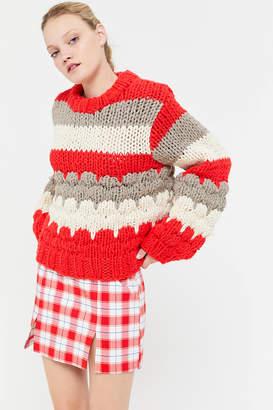 Urban Outfitters Jackie Plaid Mini Skirt