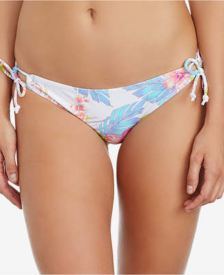 Juniors Maui Gardens Side-Tie Bikini Bottoms