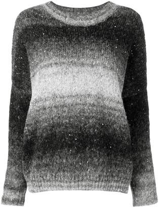 Snobby Sheep knitted gradient sweater
