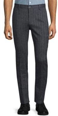 John Varvatos Motor City Fit Skinny Stripe Pants
