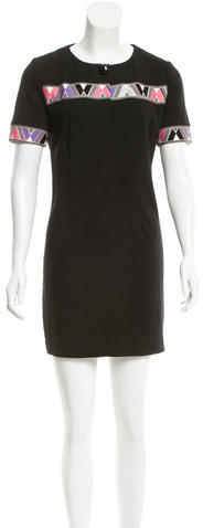Emilio Pucci Emilio Pucci Short Sleeve Mini Dress