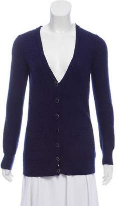 Marc by Marc Jacobs Bouclé Long Sleeve Cardigan