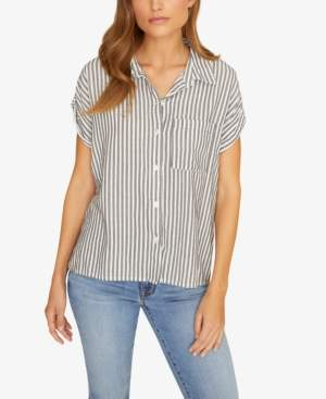 Sanctuary Mod Striped Shirt