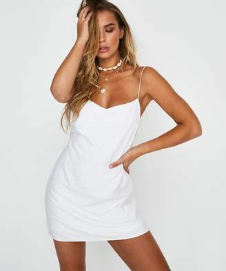 4270982267b Alice In The Eve Maddie Backless Mini Dress White