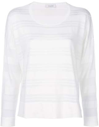 Cruciani long sleeved stripe top