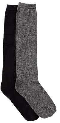 Shimera Pillow Sole Knee High Socks - Pack of 2