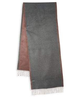 Salvatore Ferragamo Two-Tone Silk Scarf