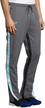 Puma Men's X Diamond Side-Snap Pants, Black