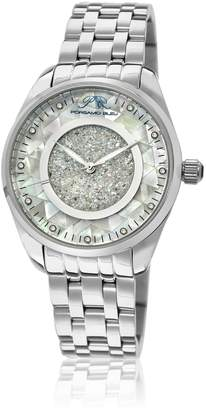 Ralph Lauren Porsamo Bleu Stainless Steel Silver Tone Women's Diamond Watch 771ALAS