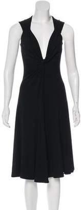 Michael Kors Midi Sleeveless Dress