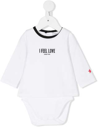 Givenchy Kids I Feel Love T-shirt body