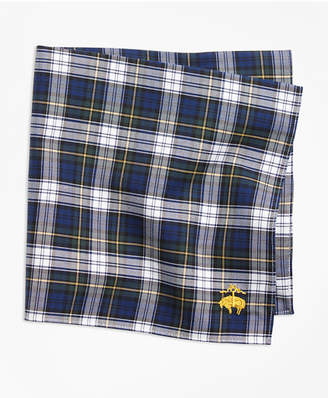 Brooks Brothers Dress Gordon Tartan Pocket Square