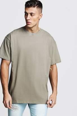 boohoo Oversized Crew Neck T-Shirt