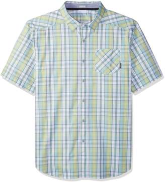 Columbia Men's Decoy Rock Ii Big and Tall Short Sleeve Shirt