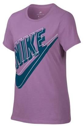 Nike Girl's Futura Glow Tee