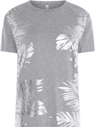 Karen Millen Palm Print T-Shirt