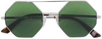McQ Eyewear hexagon frame sunglasses
