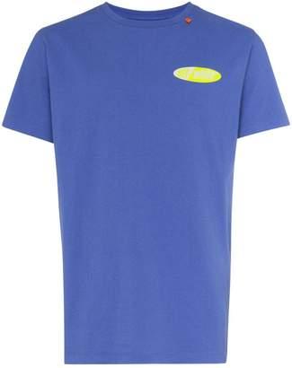 Off-White logo print short-sleeved cotton T-shirt