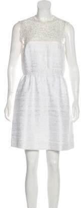 Valentino Lace Trim Mini Dress w/ Tags