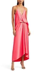Cédric Charlier Women's Satin Slipdress - Pink