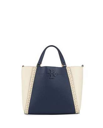 Tory Burch McGraw Brogue Small Carryall Tote Bag