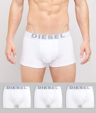 Diesel stretch cotton trunks in 3 pack