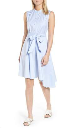 Nordstrom Signature Asymmetrical Shirtdress