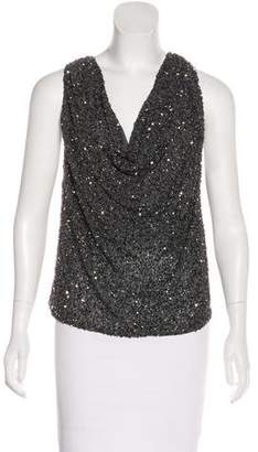 Haute Hippie Beaded Sleeveless Top