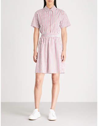 Claudie Pierlot Striped cotton shirt dress