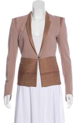 Helmut Lang Tailored Wool-Blend Blazer