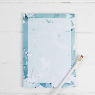 Equipment the green gables Marble Turquoise Note Pad