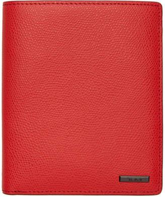 Tumi Red Province Passport Holder