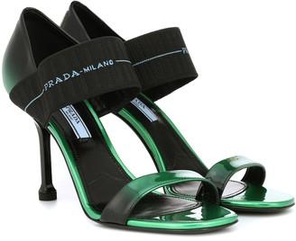 Prada Patent leather sandals