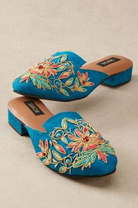 Soft Surroundings Saachi Silk Slides