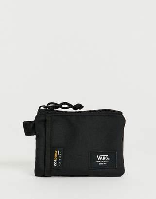 Vans Cordura zip wallet in black