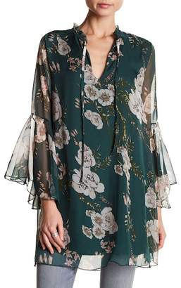 Luma Floral Woven Patterned Tunic