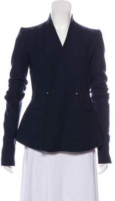 Rick Owens Virgin Wool Double-Breasted Jacket w/ Tags