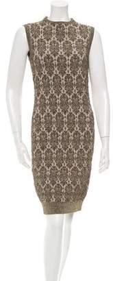 Lanvin Metallic Knit Dress w/ Tags