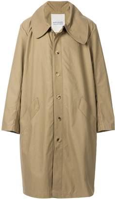 Walk Of Shame oversized wide-collar coat