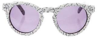 House Of Harlow Carmen Cookies and Cream Sunglasses