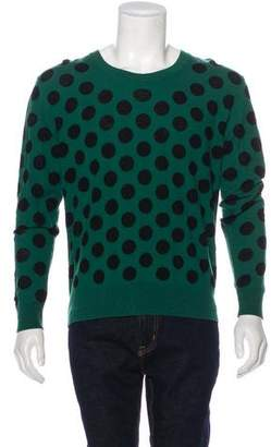 Burberry Polka Dot Virgin Wool Sweater