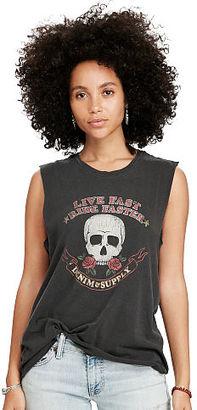 Ralph Lauren Denim & Supply Sleeveless Graphic Tee $39.50 thestylecure.com