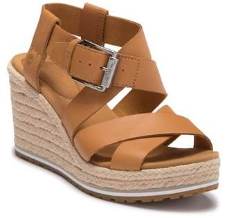 Timberland Nice Coast Leather Cross Strap Wedge