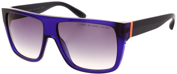Marc By Marc Jacobs Contrast Logo Sunglasses
