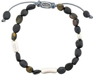 M. Cohen stone beads bracelet