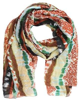 La Fiorentina ABS Animal Print Silk Scarf