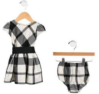 Ralph Lauren Girls' Plaid Dress Set