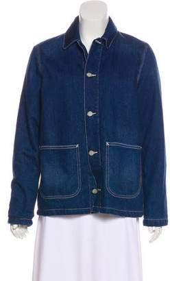 Carhartt Work in Progress Long Sleeve Denim Jacket