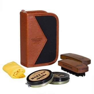 Gentlemen'S Hardware GENTLEMEN'S HARDWARE SHOE SHINE KIT- CHARCOAL