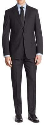 Armani Collezioni Tonal Stripe Virgin Wool Suit